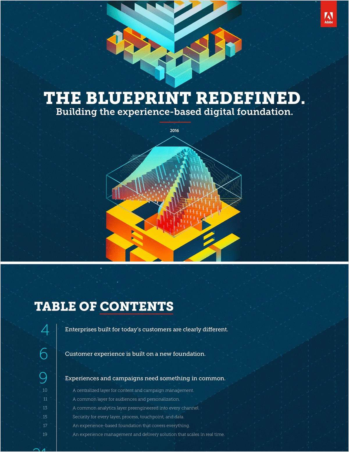The blueprint redefined building the experience based digital the blueprint redefined building the experience based digital foundation malvernweather Images