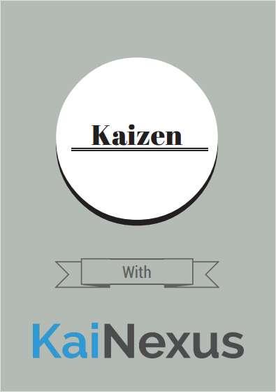 Kaizen with KaiNexus