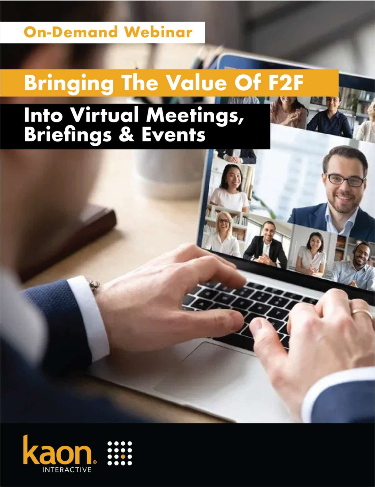 Bringing the Value of F2F to Virtual Meetings