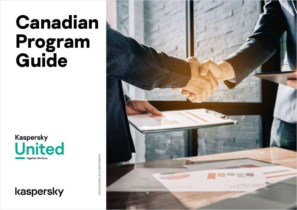 Kaspersky Partner Program for Canadian MSPs and VARs