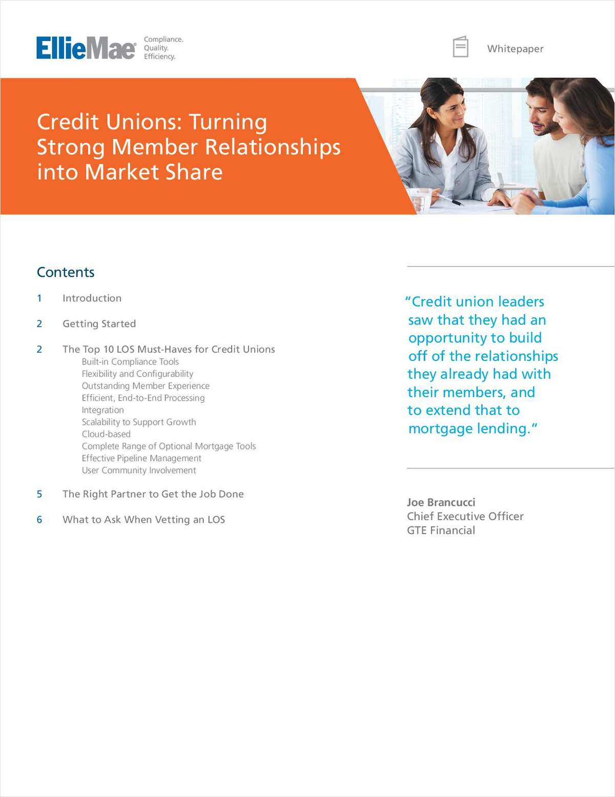 Credit Unions: Turning Strong Member Relationships into Market Share