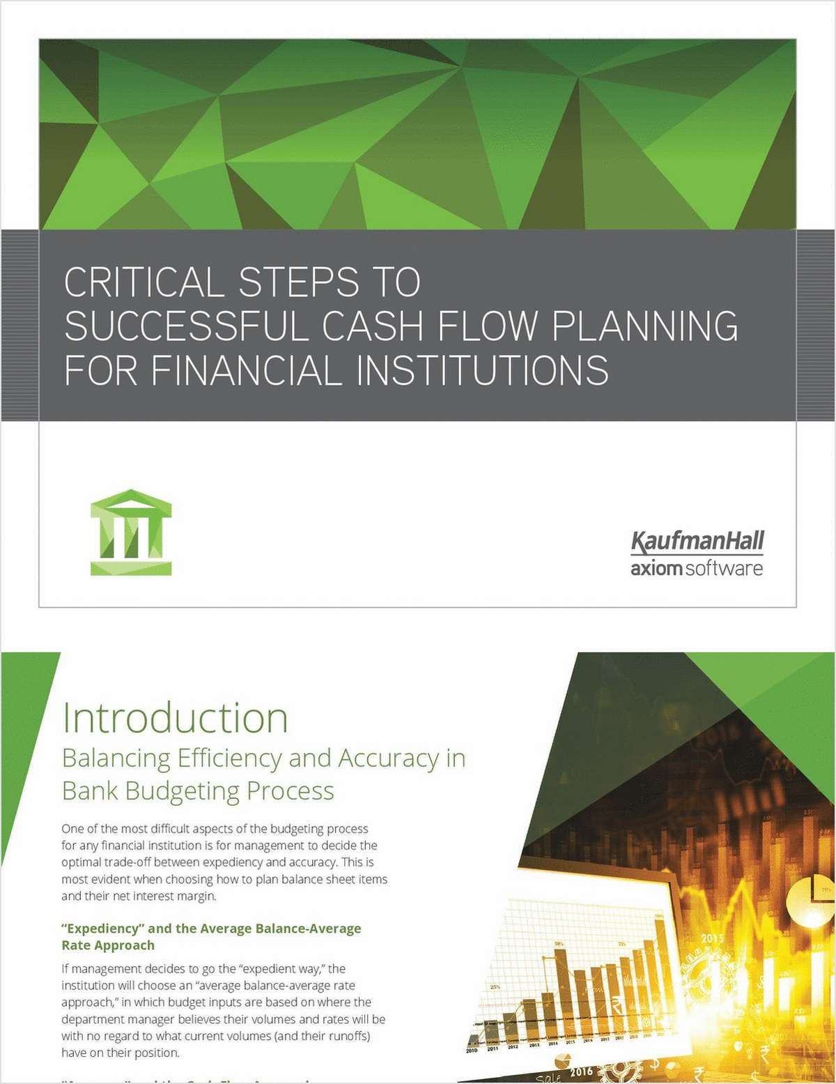 Critical Steps to Successful Cash Flow Planning For Financial Institutions