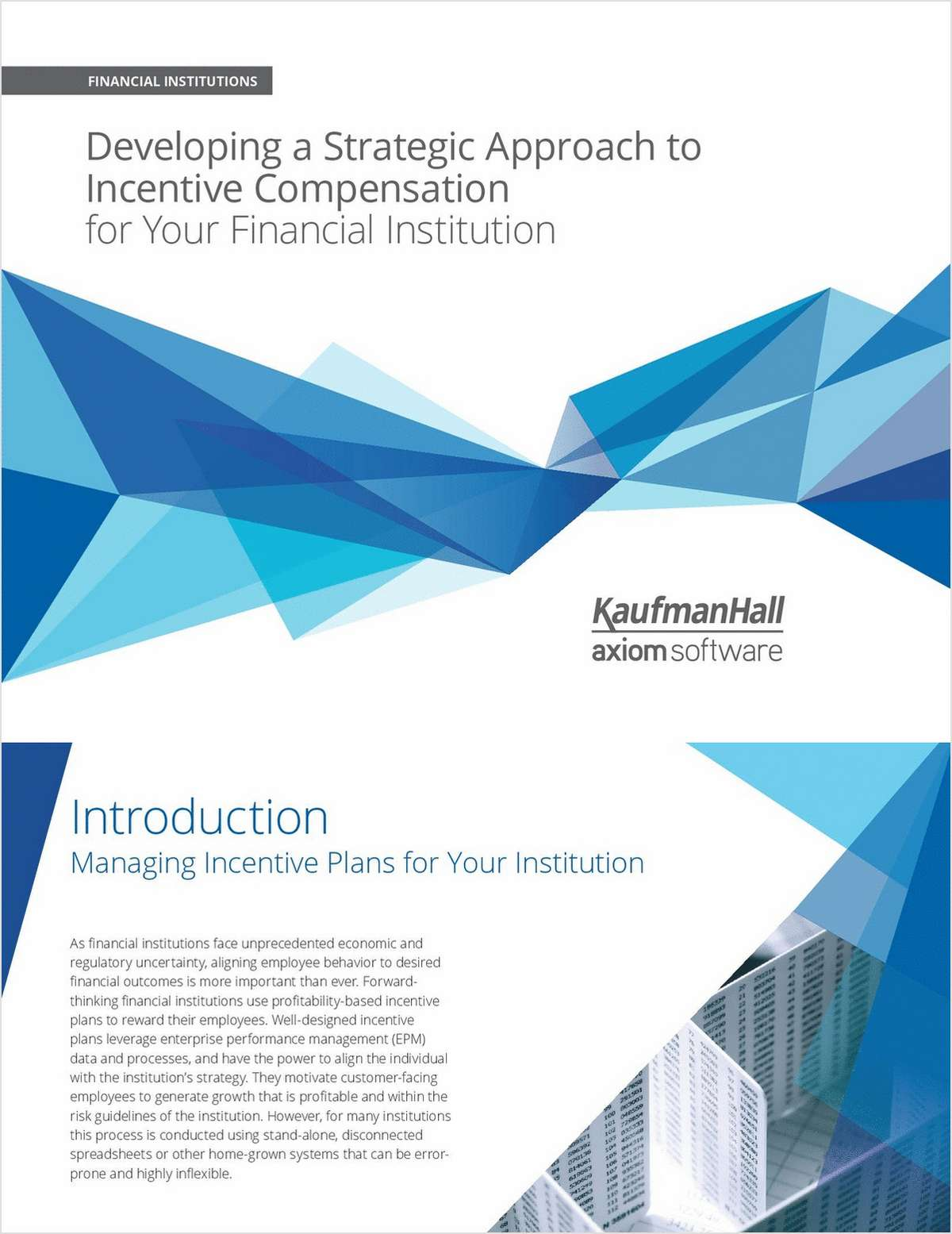How to Develop a Strategic Approach to Incentive Compensation for Your Credit Union