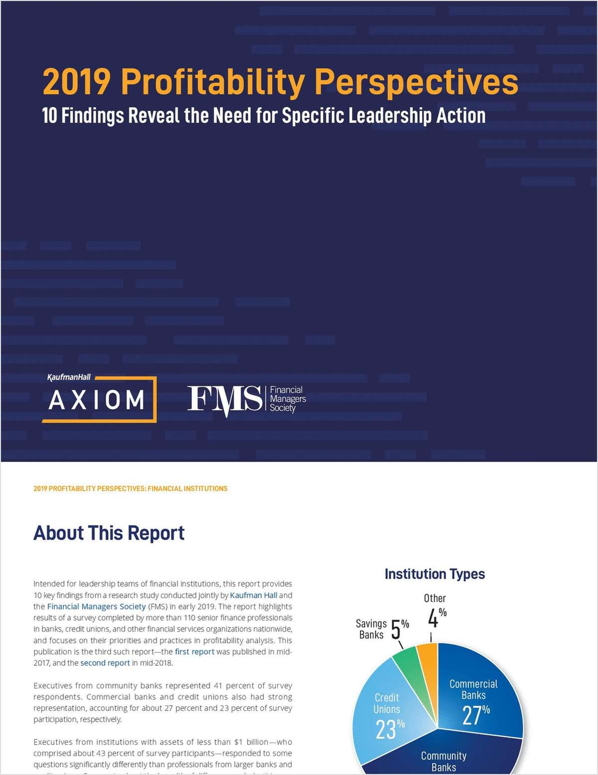 2019 Profitability Perspectives: 10 Findings Reveal the Need for Specific Leadership Action