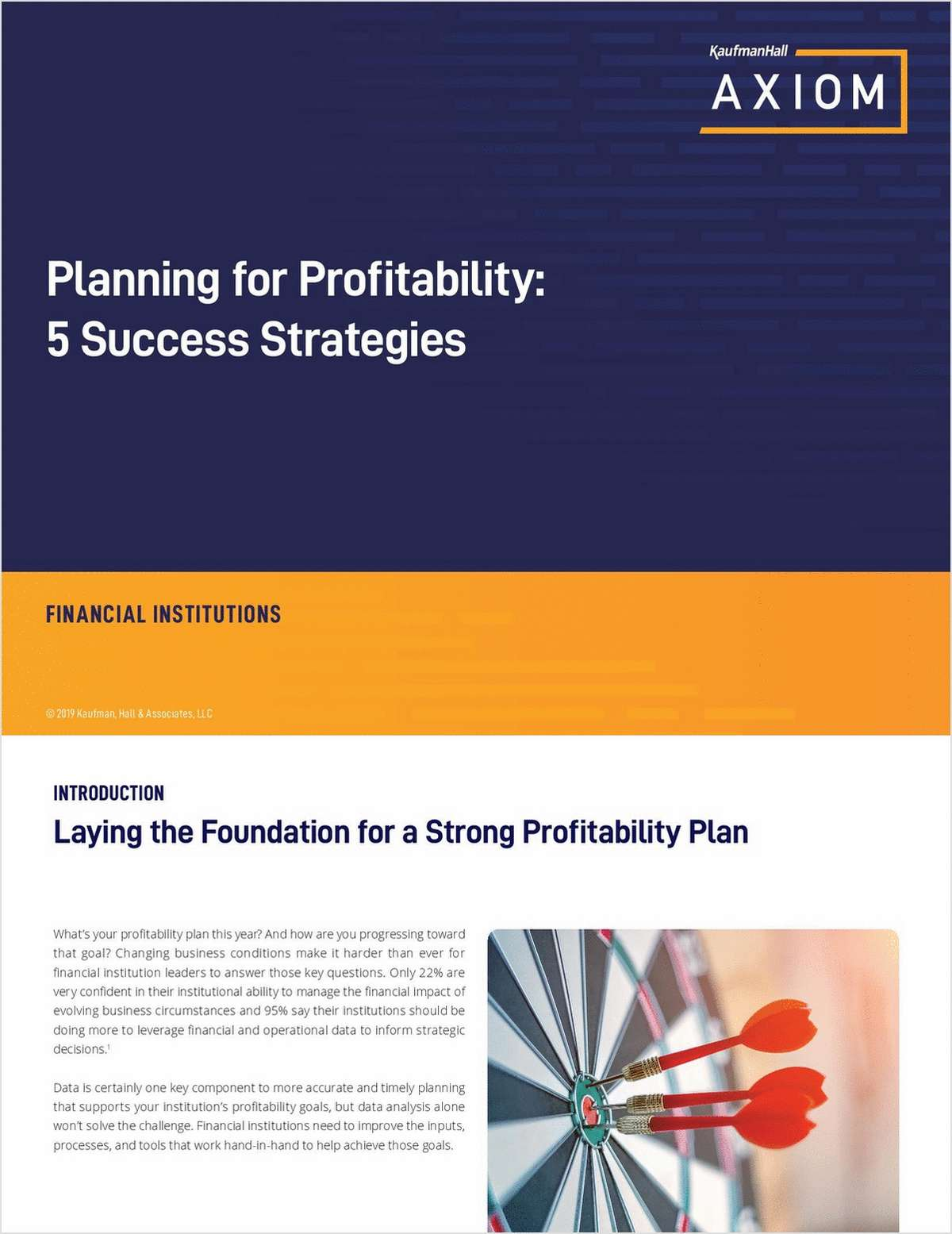 Planning for Profitability: 5 Success Strategies