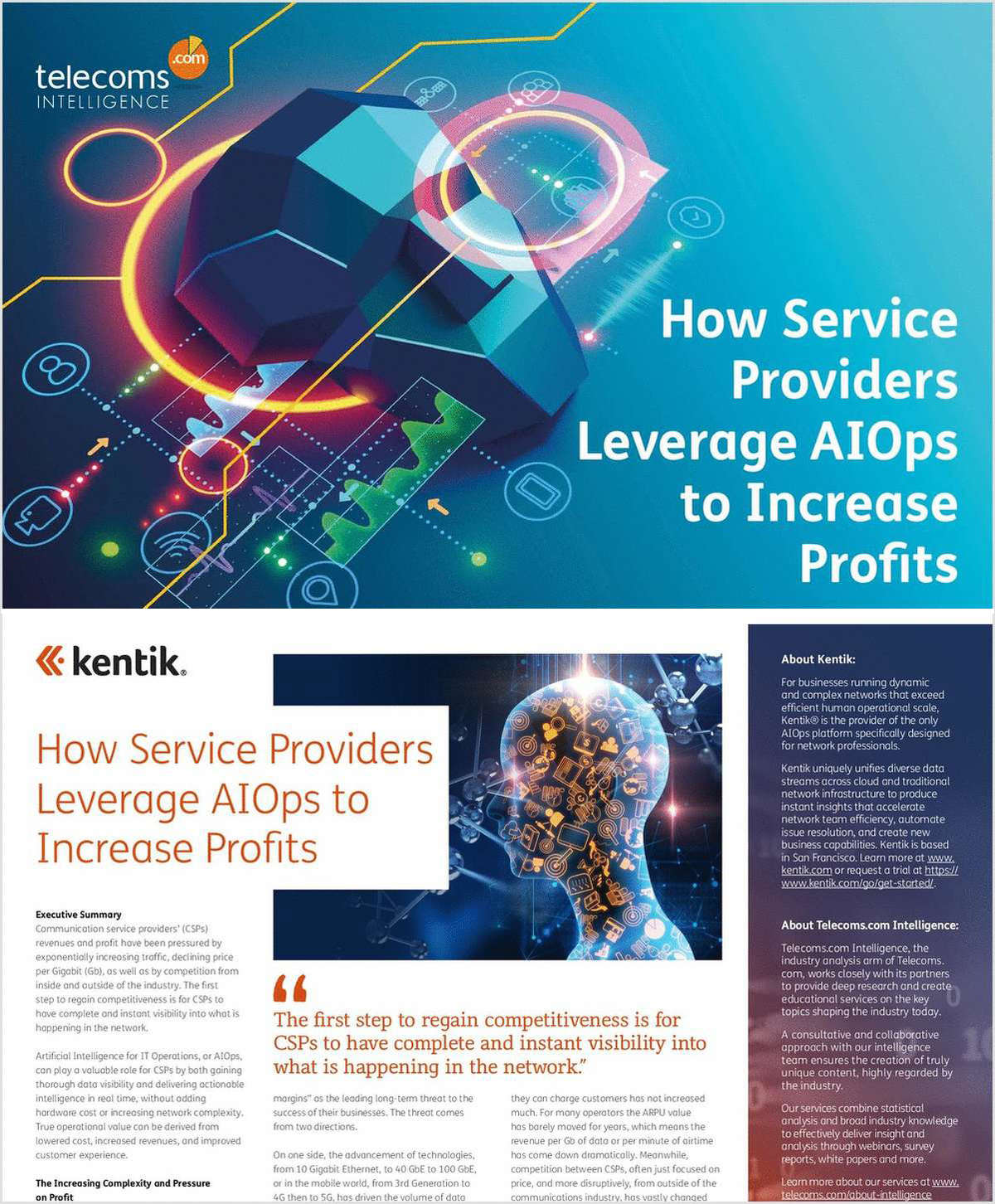 How Network Service Providers Leverage AIOps to Increase Profits