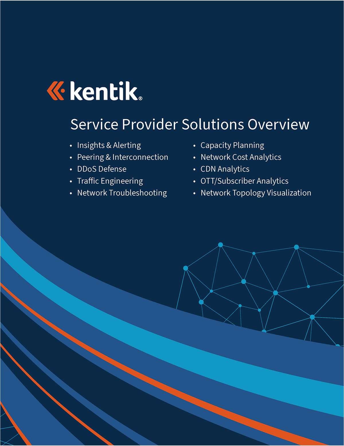 Kentik Network Service Provider Solution Overview