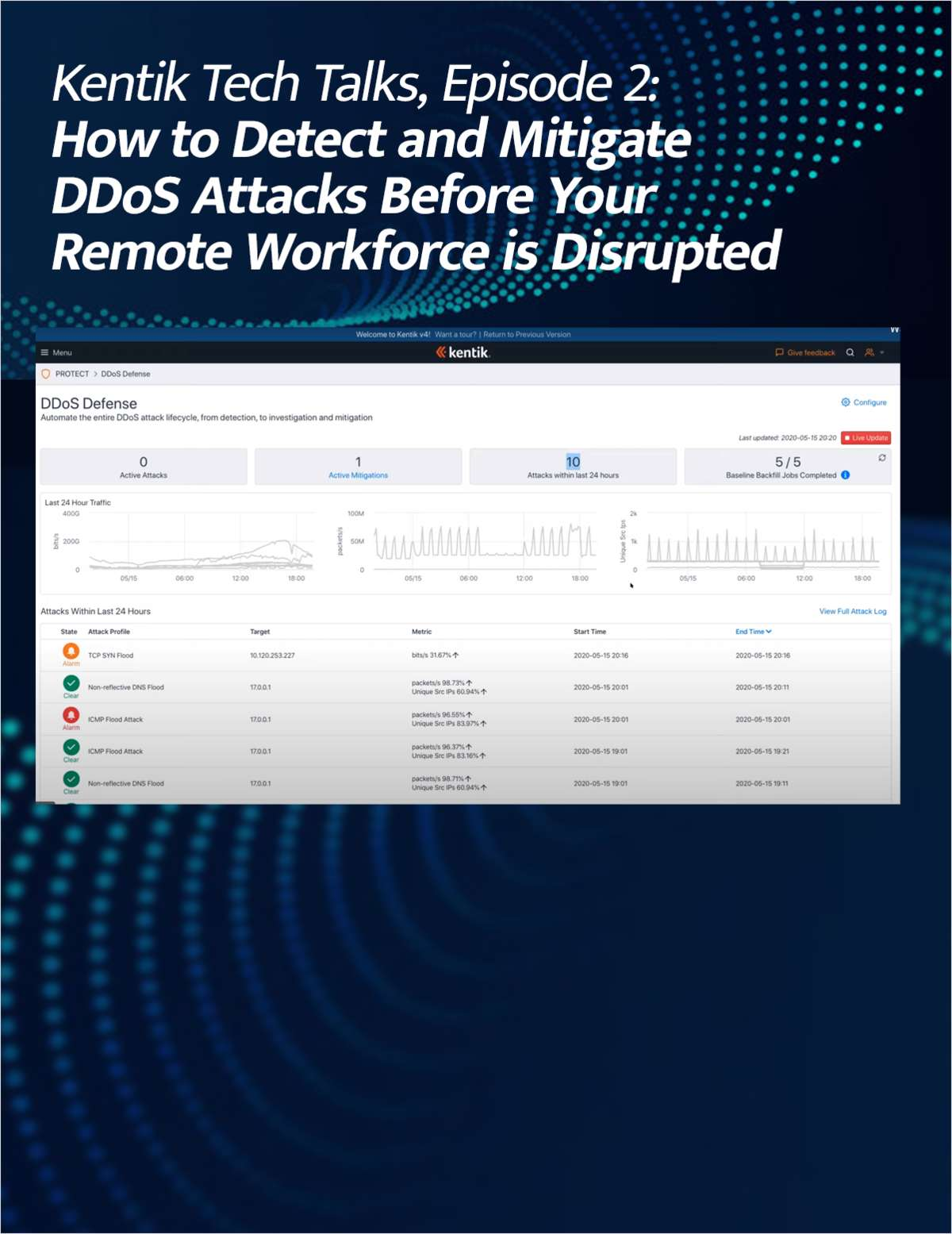 How to Detect and Mitigate DDoS Attacks Before Your Remote Workforce is Disrupted