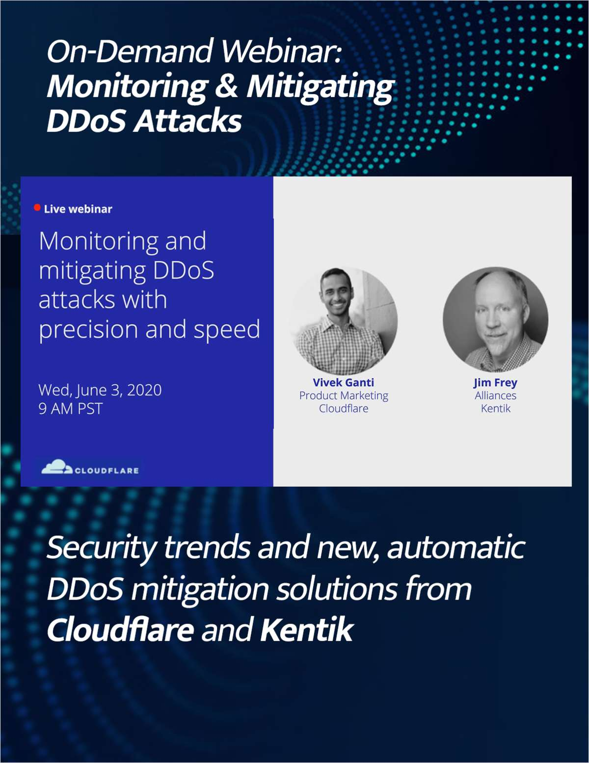 Monitoring and Mitigating DDoS Attacks with Precision and Speed