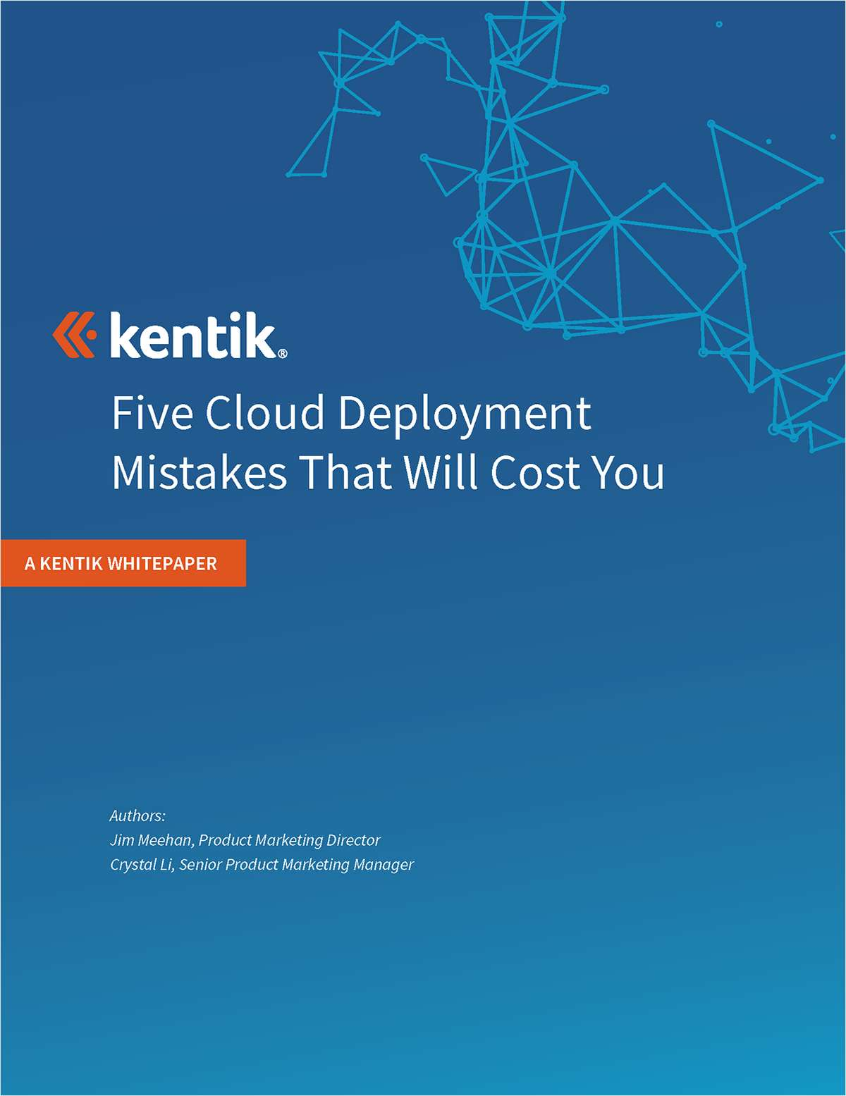 Five Cloud Deployment Mistakes that Will Cost You
