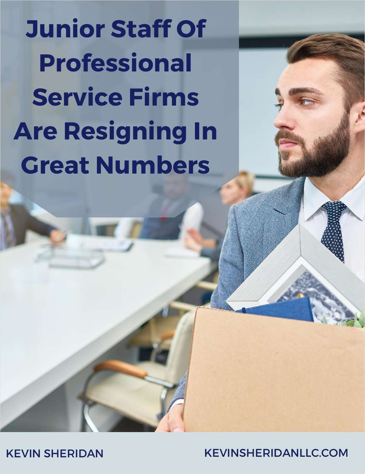 Junior Staff Of Professional Service Firms Are Resigning In Great Numbers