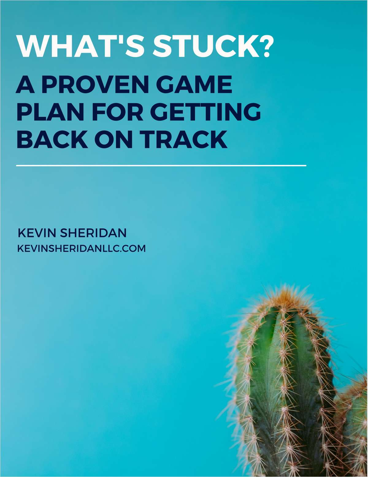 What's Stuck? A Proven Game Plan for Getting Back on Track