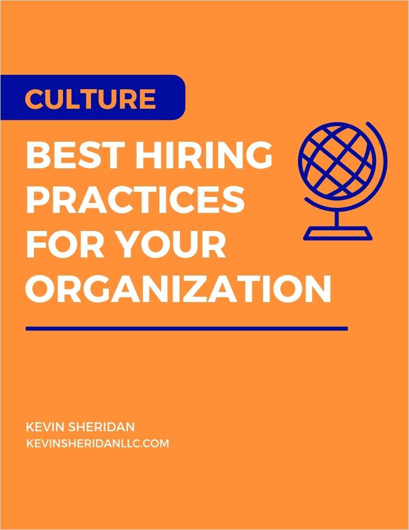 Culture - Best Hiring Practices for Your Organization