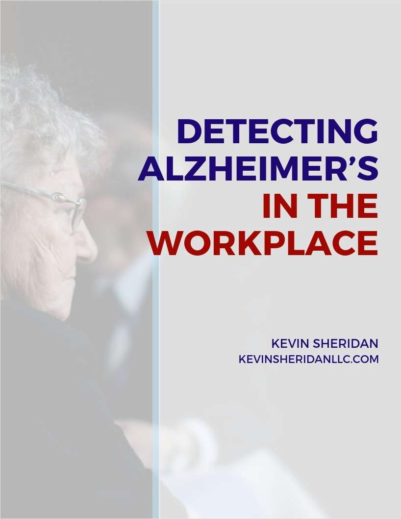 Detecting Alzheimer's in the Workplace