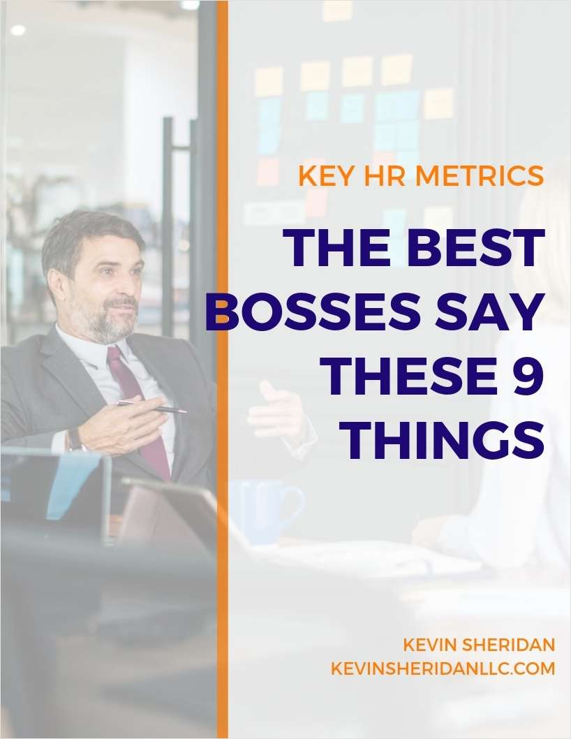 Key HR Metrics - The Best Bosses Say These 9 Things