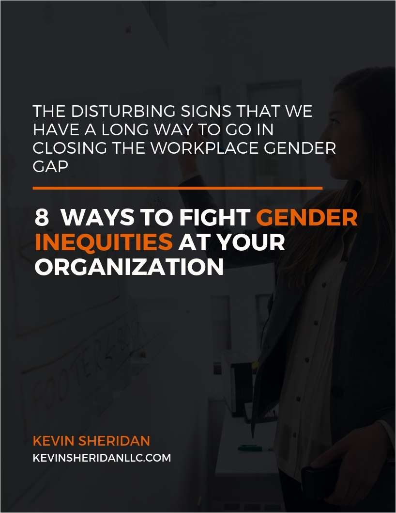 8 Ways to Fight Gender Inequities at Your Organization