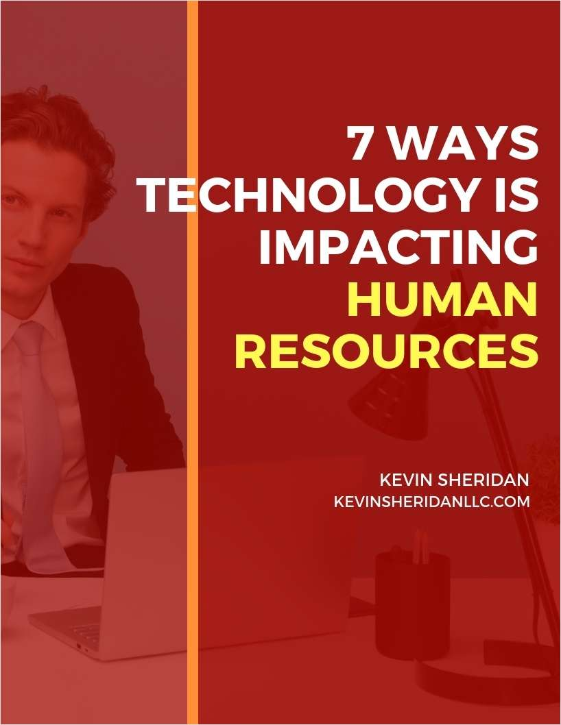7 Ways Technology is Impacting Human Resources