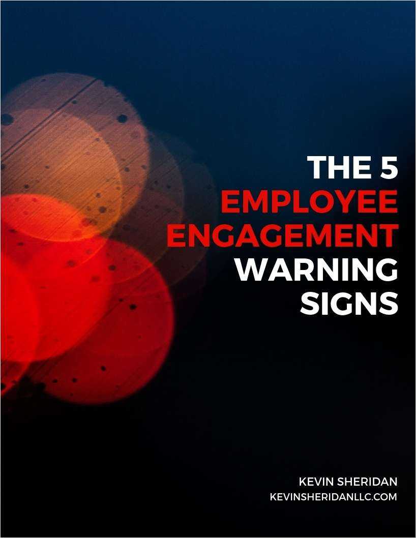 The 5 Employee Engagement Warning Signs