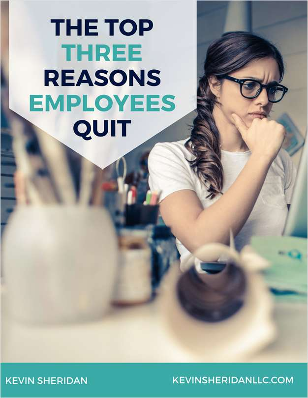 The Top Three Reasons Employees Quit