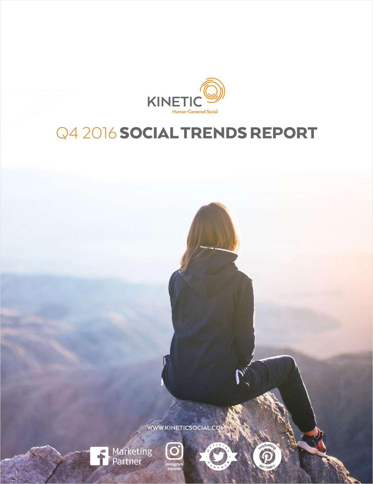 Q4 2016 Social Trends Report