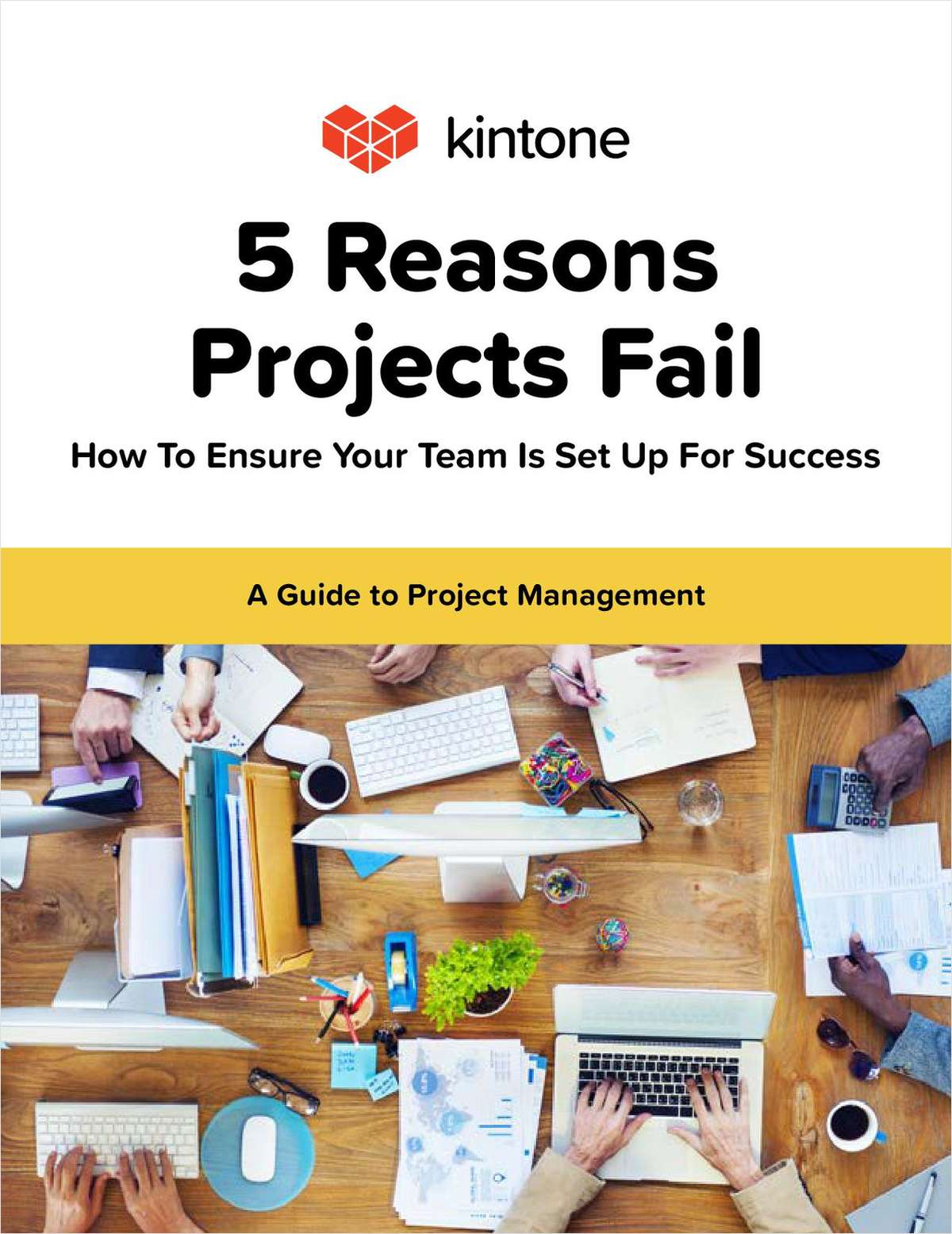 5 Reasons Projects Fail