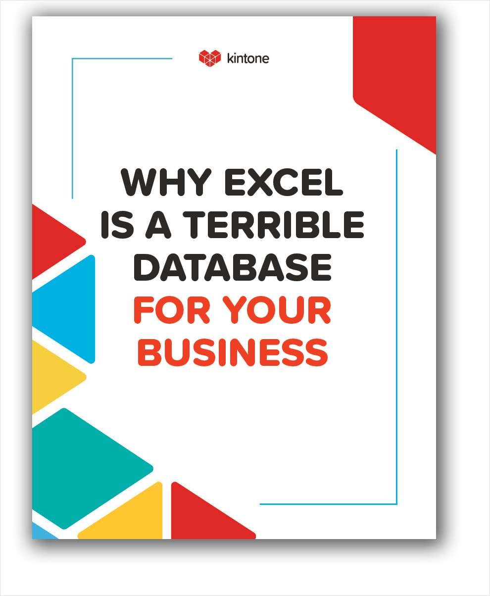 Why Excel Is A Terrible Database For Your Business