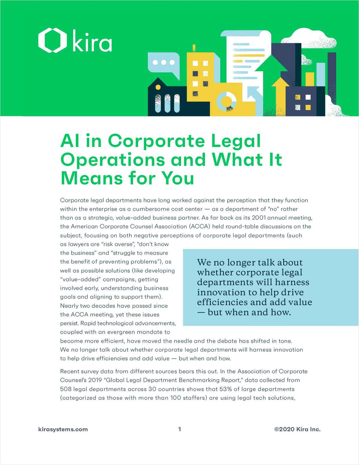 AI in Corporate Legal Operations and What It Means for You