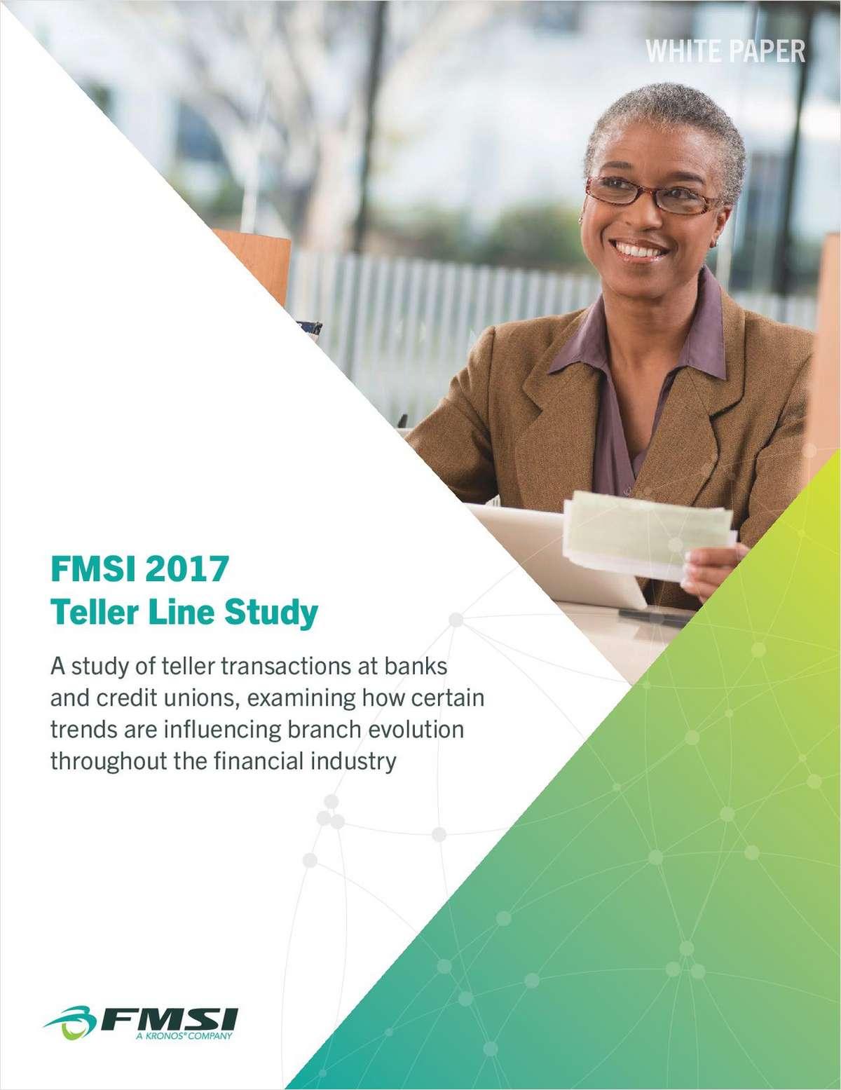 FMSI 2017 Teller Line Study