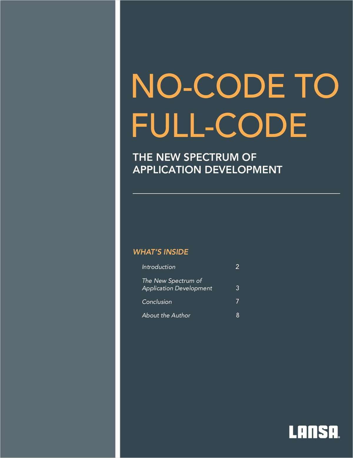 No-Code to Full-Code: The New Spectrum of Application Development