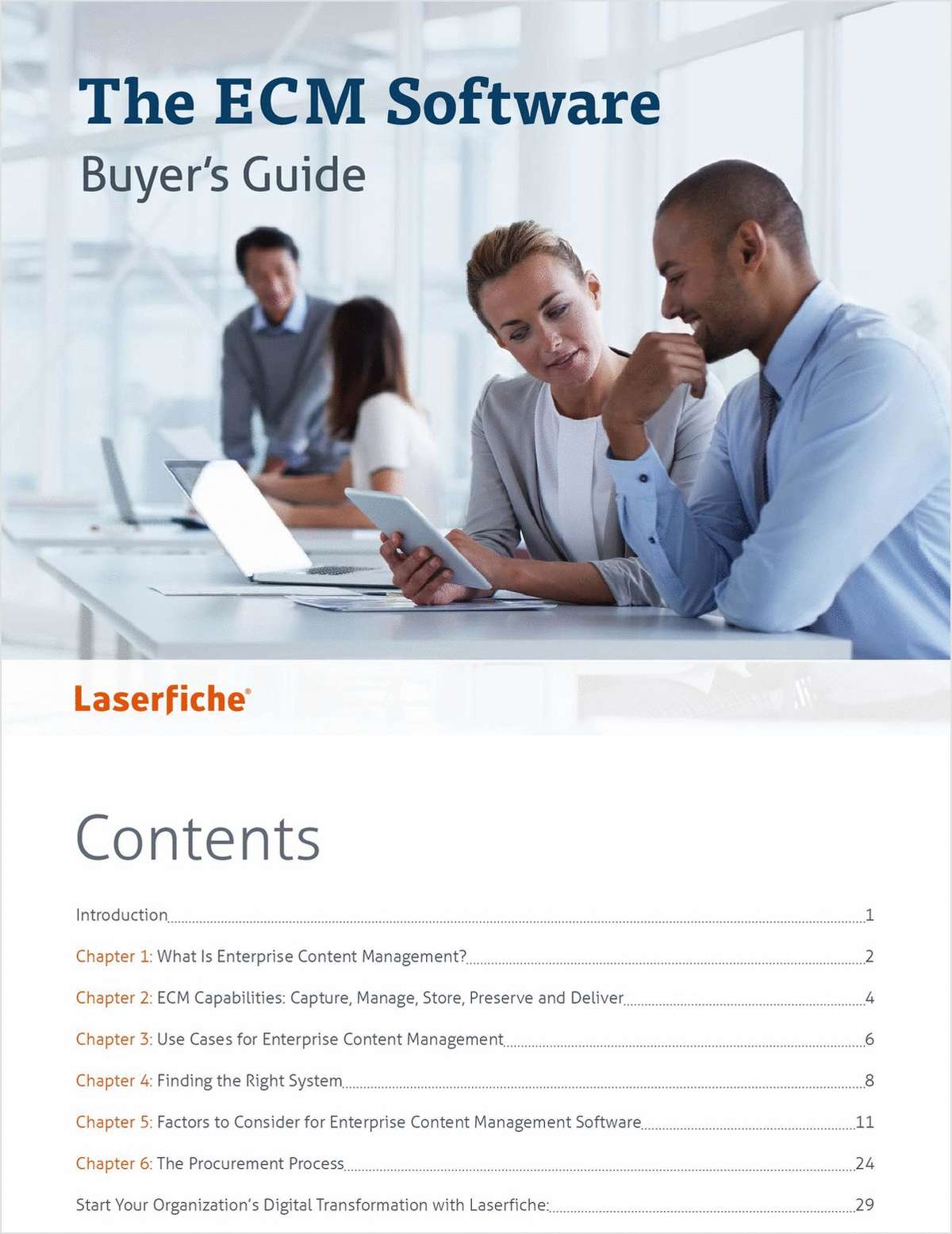 The ECM Software Buyer's Guide