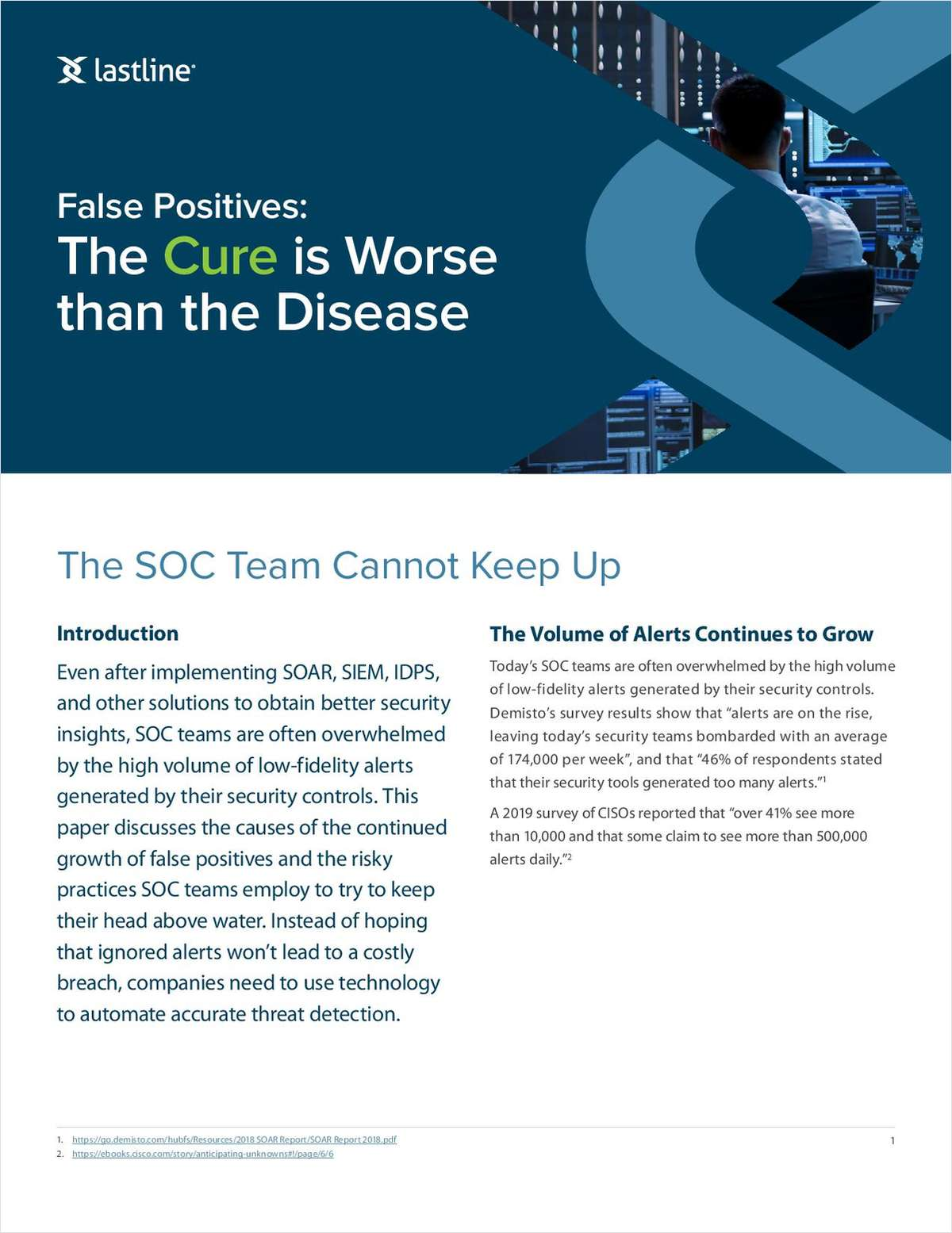 False Positives:  The Cure is Worse  than the Disease