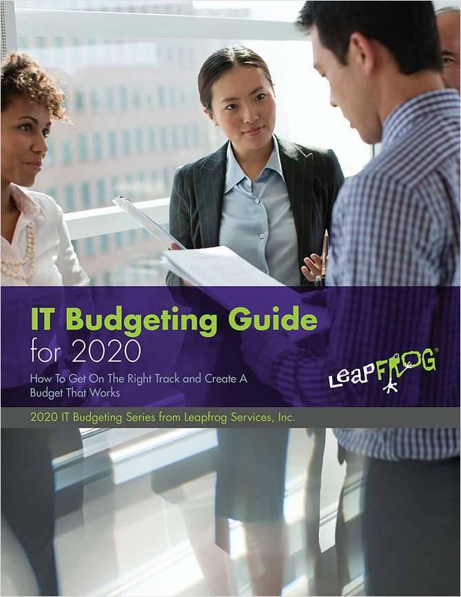 IT Budgeting Guide For 2020
