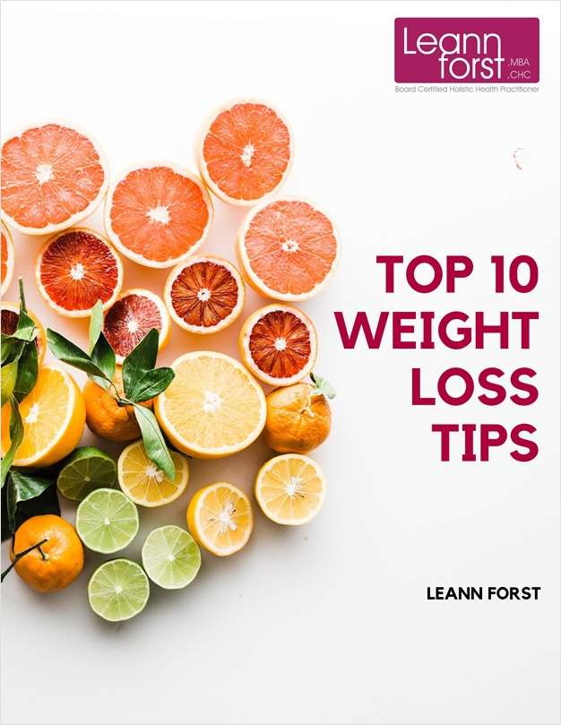 Top 10 Weight Loss Tips