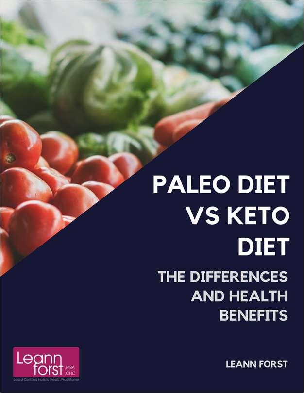 Paleo Diet vs Keto Diet