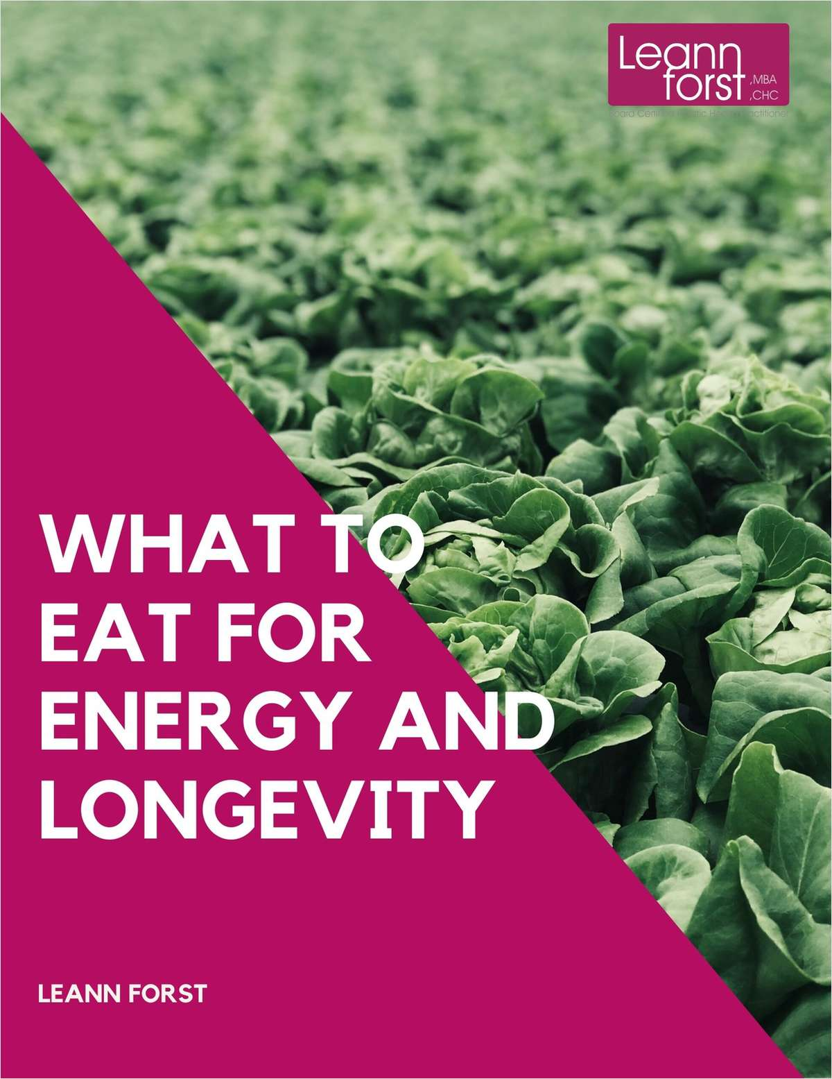 What to Eat for Energy and Longevity