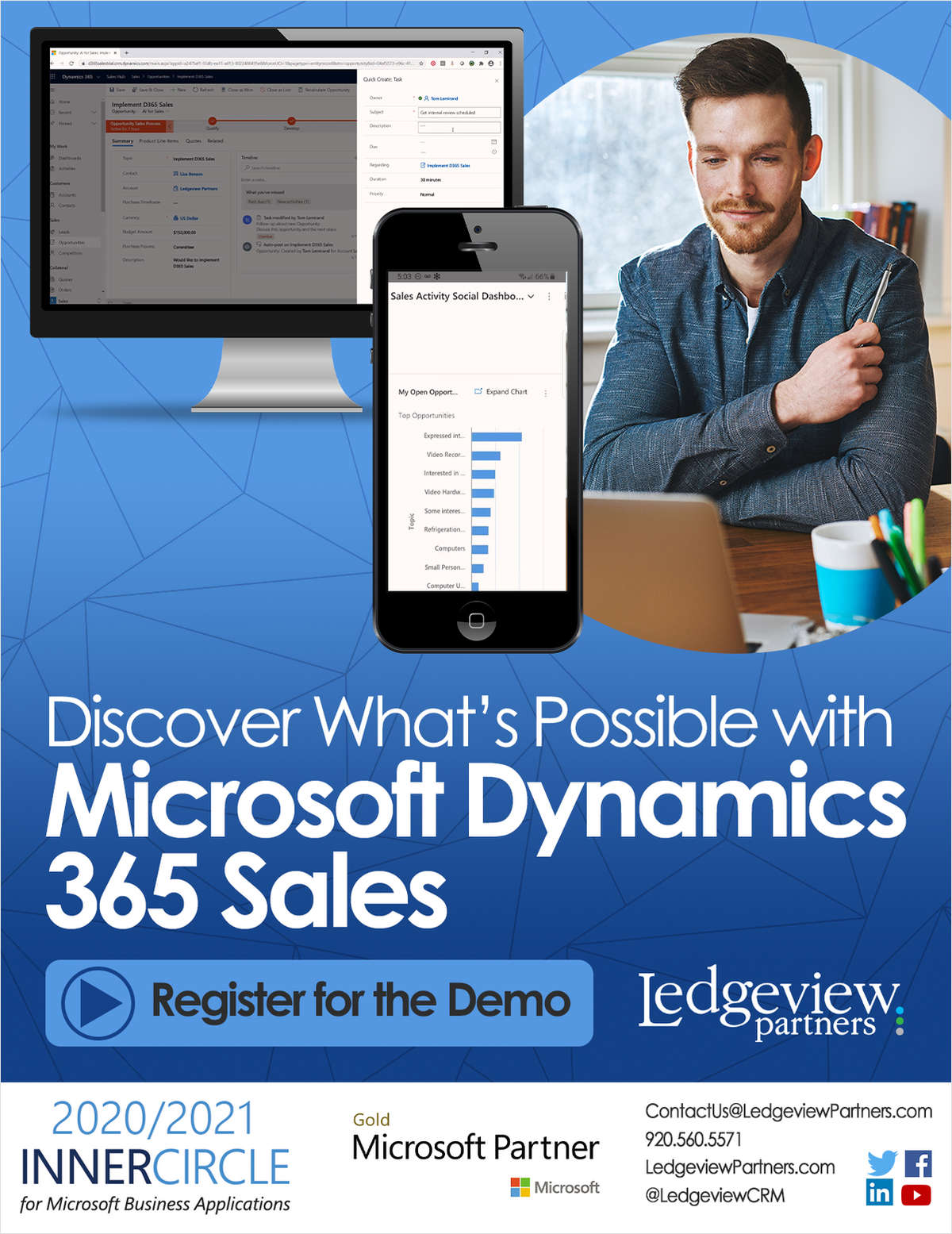Microsoft Dynamics 365 Sales Demo