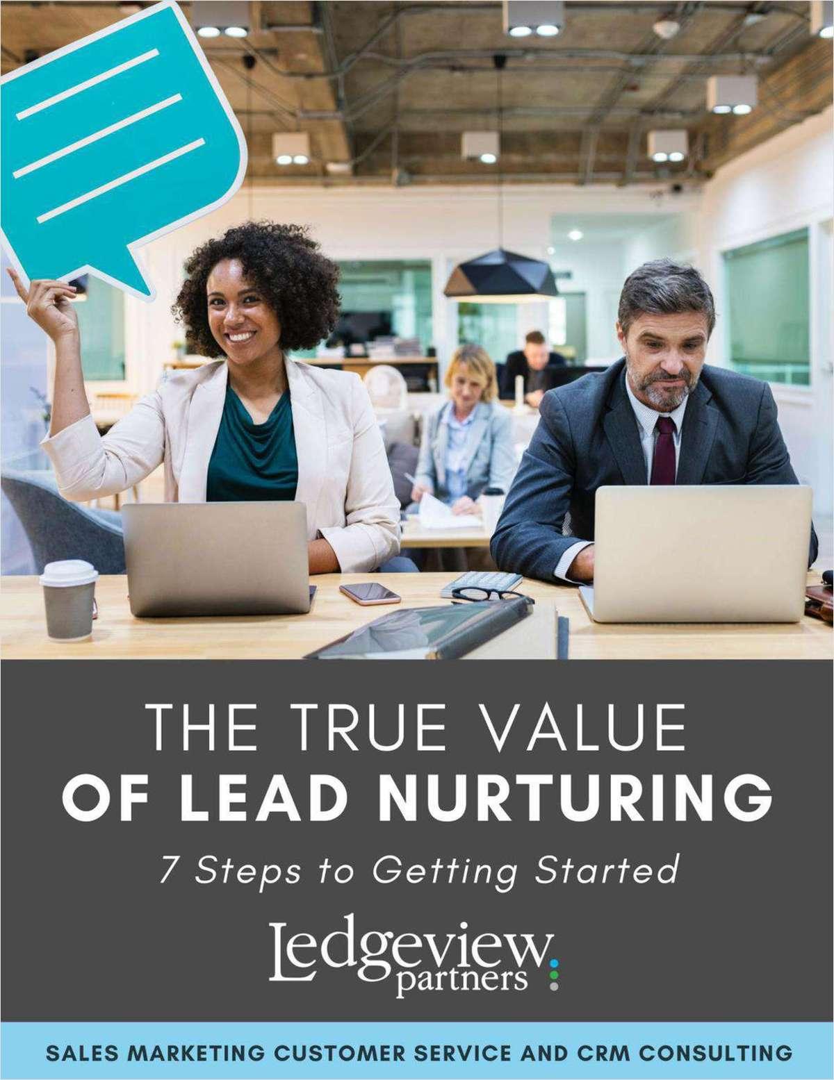 The True Value of Lead Nurturing