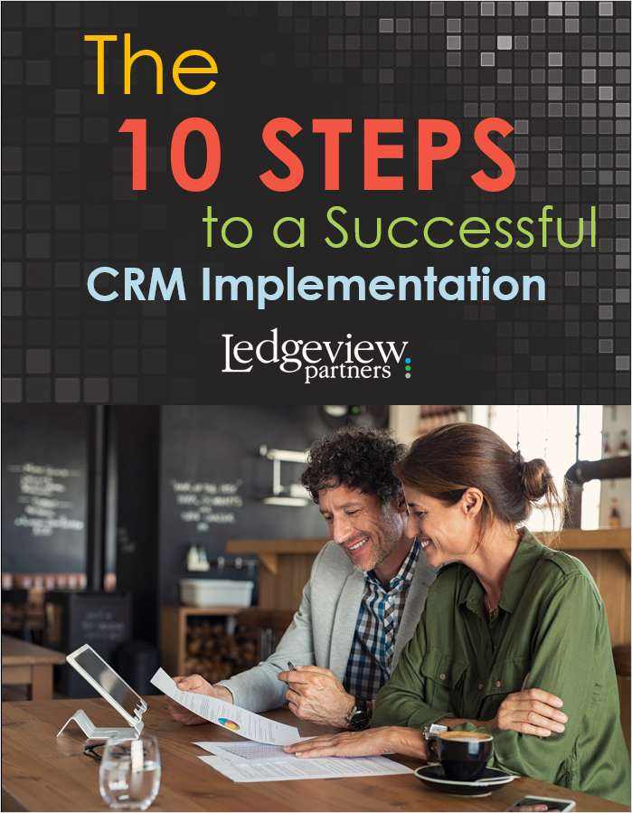 The 10 Steps to a Successful CRM Implementation