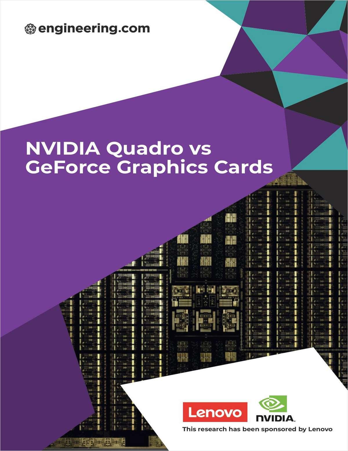 NVIDIA Quadro vs GeForce Graphics Cards