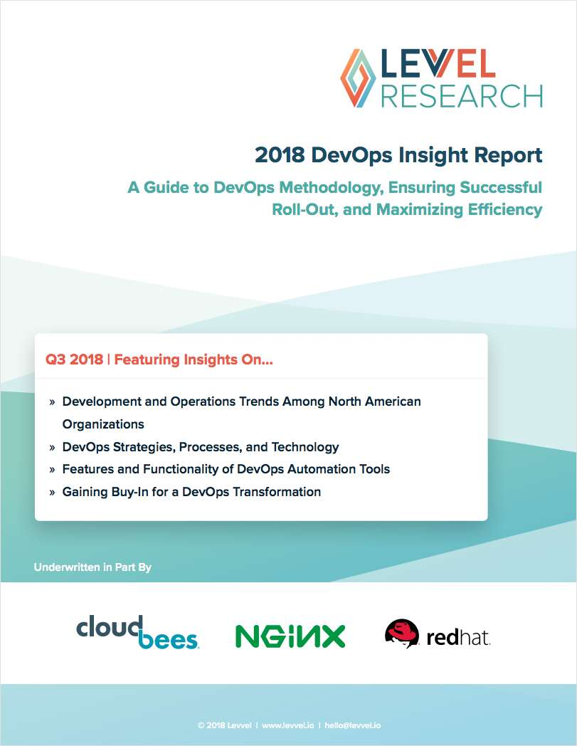 2018 DevOps Insight Report