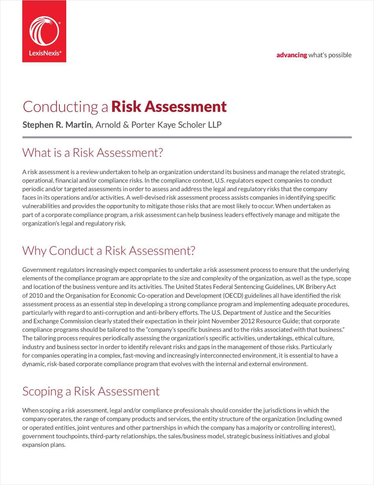 How to Conduct an Effective Risk Assessment