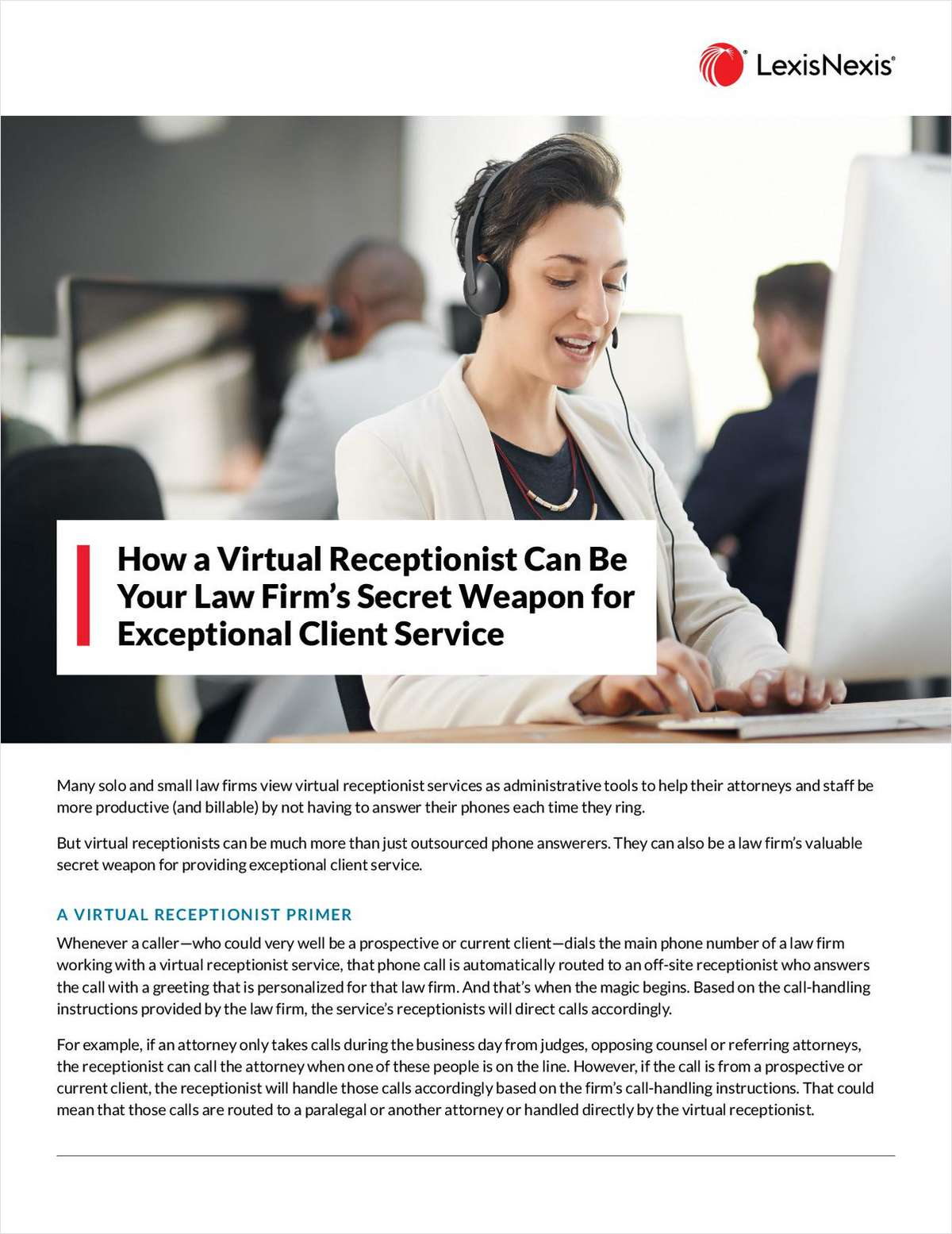 Virtual Receptionists: Your Law Firm's Secret Weapon for Exceptional Client Service