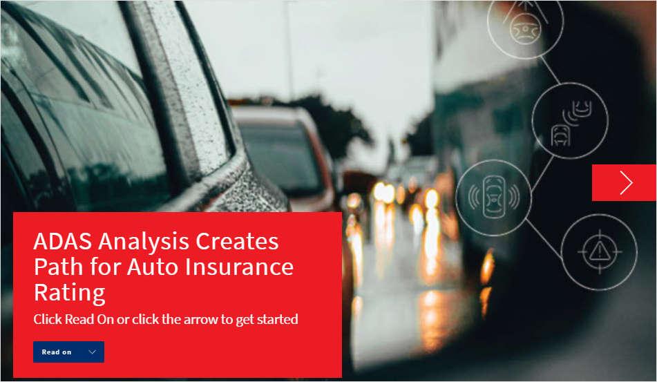 ADAS Analysis Creates Path for Auto Insurance Rating