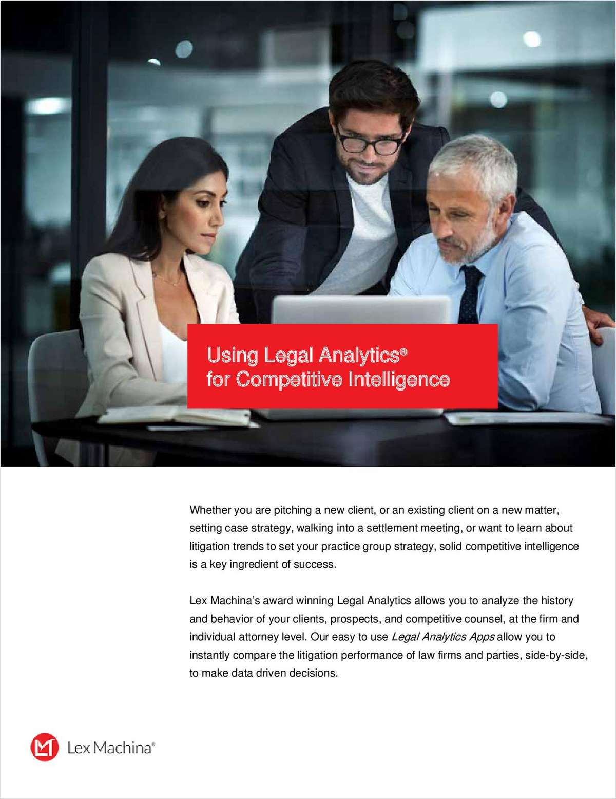 Legal Analytics: Benefits for Competitive Intelligence & Impact on Law Firms