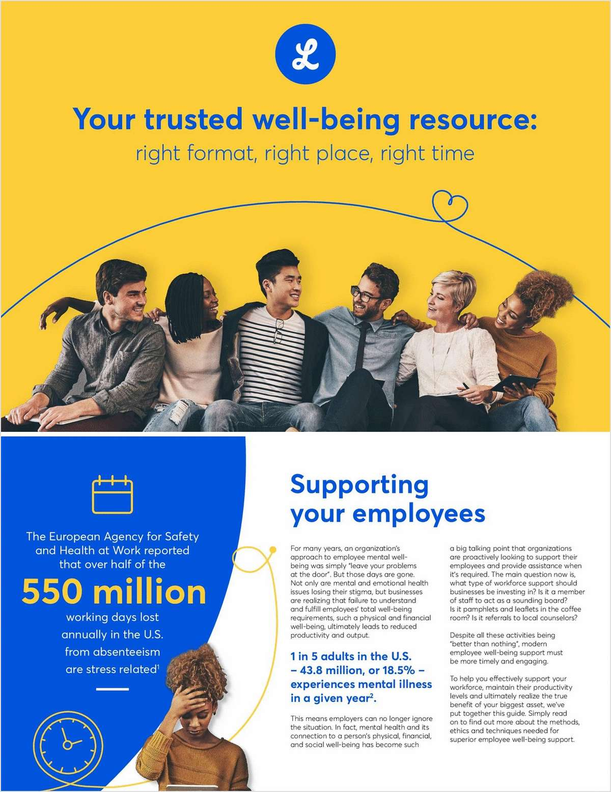 Your Trusted Well-Being Resource: Right Format, Right Place, Right Time