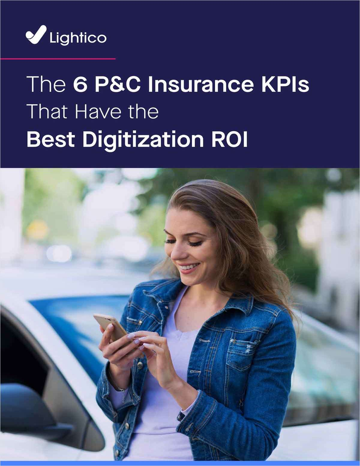 6 P&C Insurance KPIs That Have the Best Digitization ROI