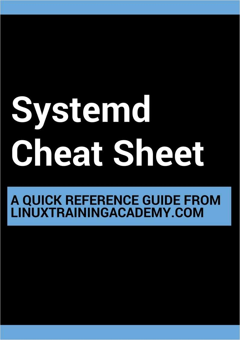 Systemd Cheat Sheet
