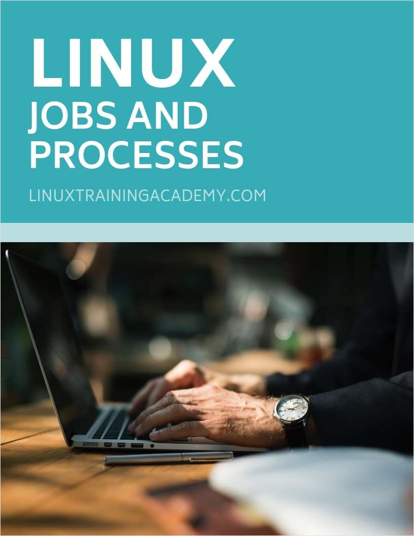 Linux Jobs and Processes