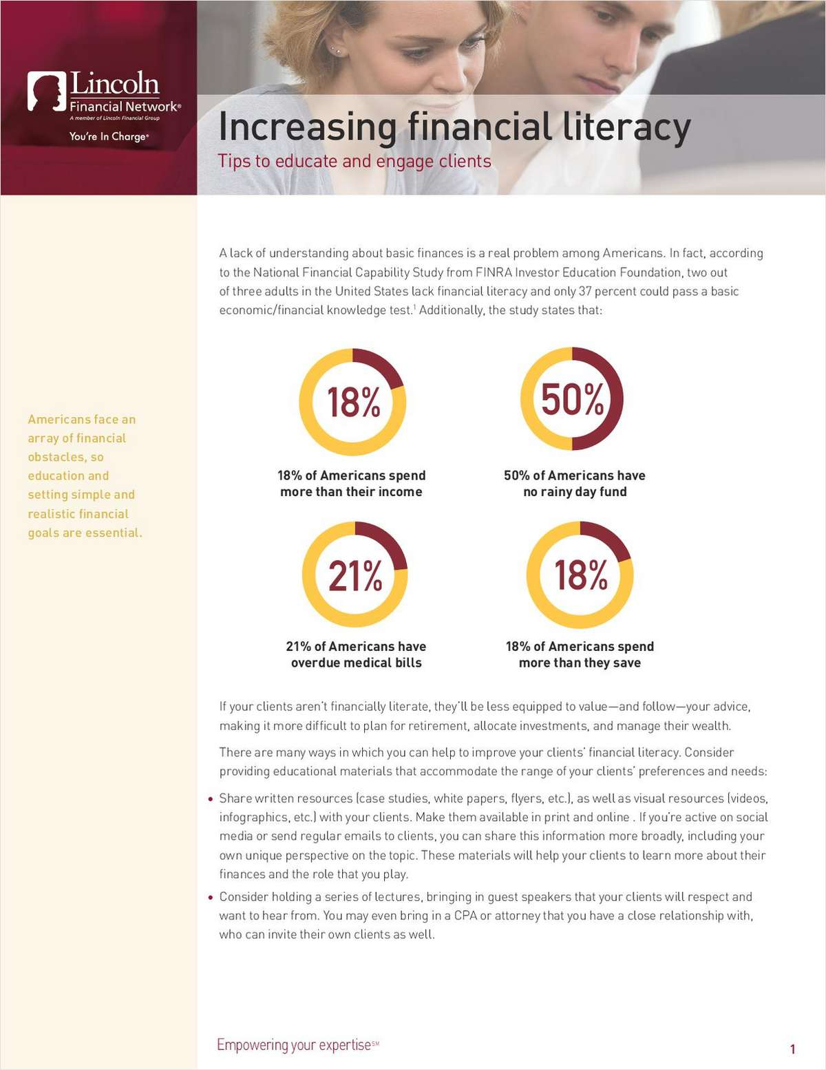 Increasing Financial Literacy: Tips to Educate and Engage Clients