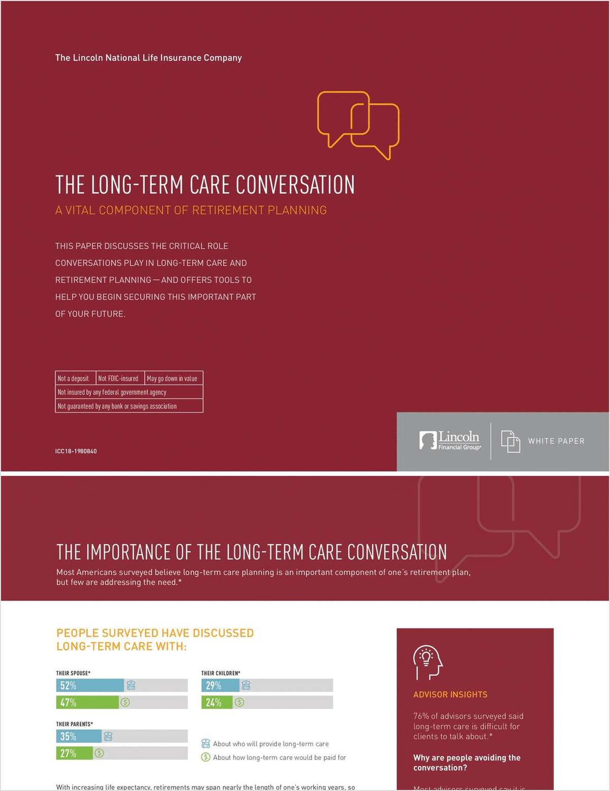 The Long-Term Care Conversation: A Vital Component of Retirement Planning